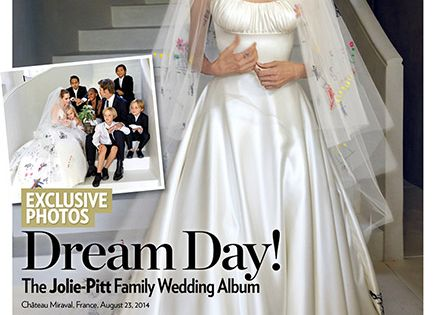 Brad Pitt and Angelina Jolie's Family Wedding Album ...