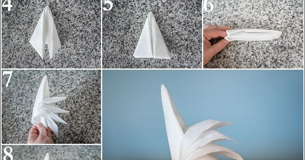 Opera Napkin Fold | How to Fold a Napkin | Pinterest | Napkins, Opera and Table settings