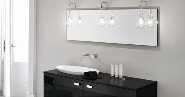 Outstanding Bathroom Lighting Over Mirror: Bathroom Mirrors With Embedded LED Lights