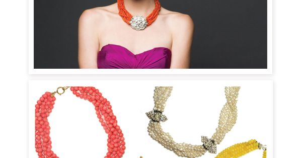 crazy for these statement necklaces by Margaret Elizabeth! gold bracelet Jewelry| http://necklace568.blogspot.com