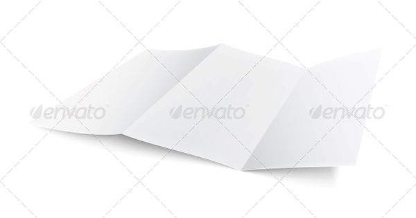 Blank Trifold Paper Brochure Brochures and Paper - blank brochure