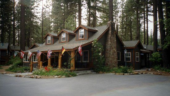 Main Lodge Of Rustic Cottages Tahoe Vista Rustic Cottage Rustic Cottage Decor