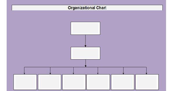Organizational Chart Template 20 travel Pinterest - blank organizational chart