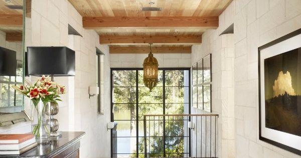 Plafond hout ceiling pinterest plafond hout en houten plafond - Lay outs binnenkomst in het huis ...