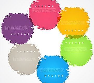 Set Of Bright Color Circles Vector Grunge Design Elements Color Icons Grunge Icons Circle Png And Vector With Transparent Background For Free Download In 2021 Color Circle Design Elements Hologram Colors