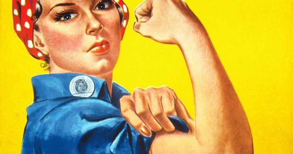 """La storia di """"Rosie the riveter"""" L'immagine icona di patriottismi e femminismi è stata ripescata - e ritirata tra le proteste - da una pubblicità a…"""