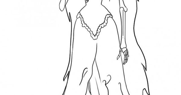 Corpse Bride Coloring Pages Corpse Bride Coloring Pages
