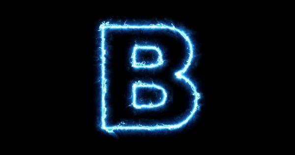 حرف B مزخرف 37 صورة لحرف B مزخرفة بفبوف Neon Signs Signs