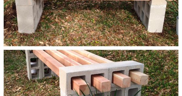 What's not to love about this super cheap DIY bench that uses