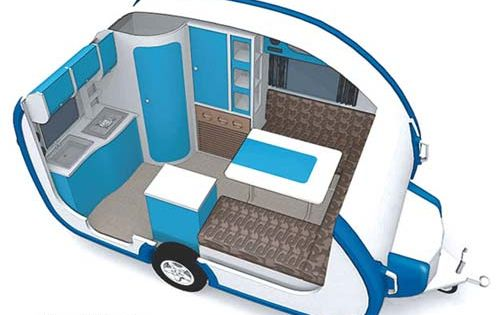 small travel trailers ultralight iCamp Elite small travel