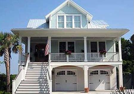 Plan 15035nc narrow lot beach house plan kitchens for Narrow beach house