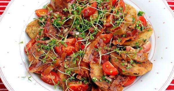 semmelkn delsalat mit tomaten und speck 365 salate oder mehr pinterest tomaten salat und. Black Bedroom Furniture Sets. Home Design Ideas