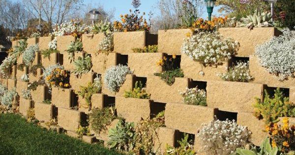 Mur de soutènement - 20 idées de conception de la terrasse  Design ...