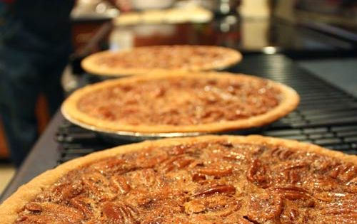 Mama's Pecan Pies. Recipe makes 3 pies, also has a recipe for