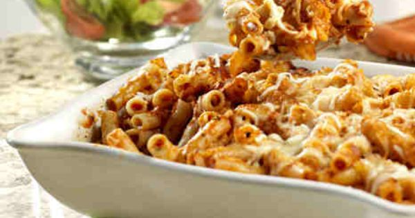 Baked Ziti Recipe Ingredients 1 (26 ounce) jar Prego® Traditional Italian Sauce