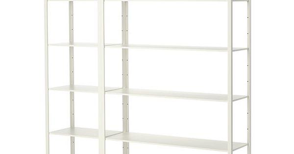 Ikea fj lkinge estanter a las baldas largas y finas - Estanteria algot ikea ...