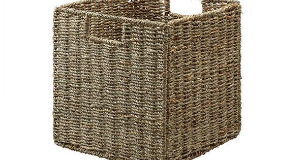 Designer S Image Trade Seagrass Decorative Basket With Images