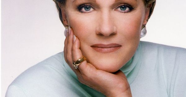 Julie Andrews. Academy award-winning actress. I love her. She was my first