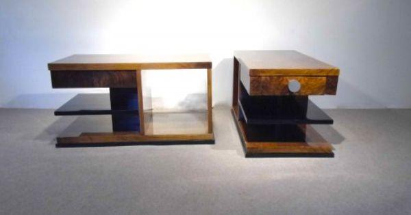 paire de bout de canap art d co pinterest bout de canap antiquaire en ligne et canap s. Black Bedroom Furniture Sets. Home Design Ideas