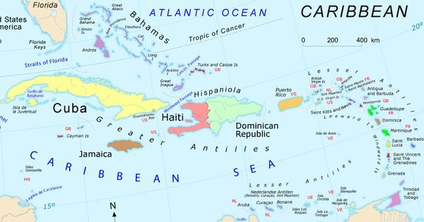 Google caribbean