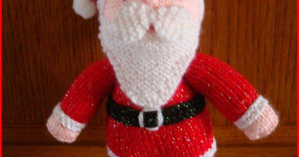 modele tricot gratuit pere noel tricot toutous pinterest modele tricot gratuit modele. Black Bedroom Furniture Sets. Home Design Ideas