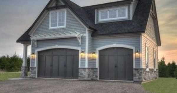 garage door arborArbor Doors  Trellis Above Garage Door Planted With Pink Climbing