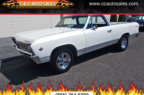 1967 Chevrolet El Camino With Images Muscle Cars For Sale