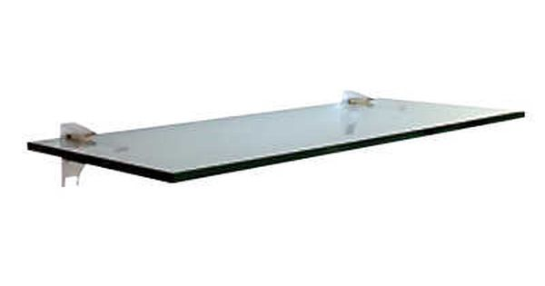 Glass 12 24 30 Or 36 Wide X 6 8 10 Or 12 Deep Black Silver Or White Aluminum Bracket Show Details Glass Wall Shelves Wall Shelves Wood Wall Shelf