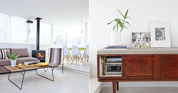 Mir el resultado de una reforma en un depto con mucha luz for O kitchen mira mesa