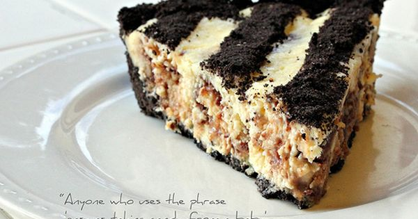 twix cheesecake pie | Yummy Foods | Pinterest | Cheesecake Pie ...