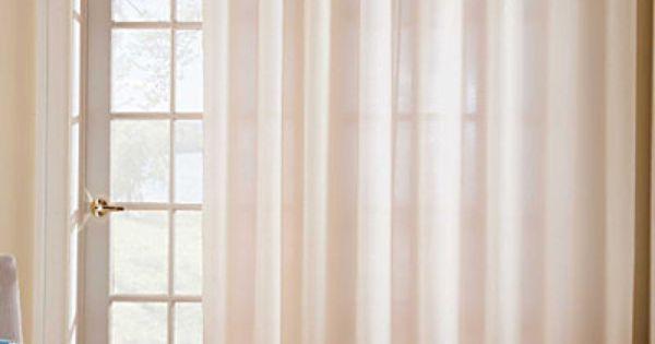 Thermavoile Grommet Top Curtains Patio Doors Door