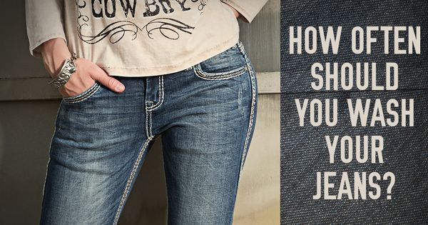 So, just how often SHOULD you wash your jeans? The answer ...