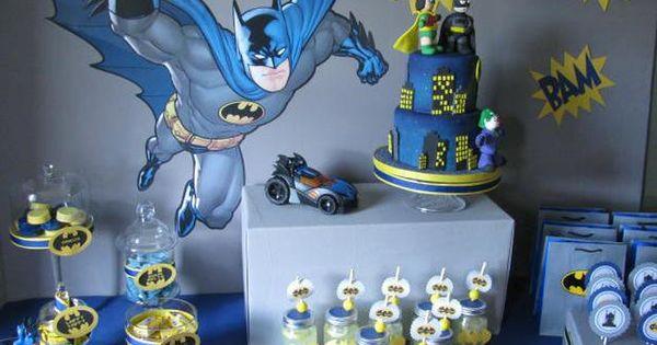 batman party theme