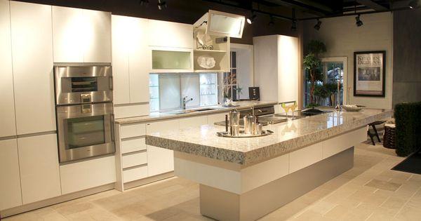 Quartz alternative to white carrara marble kitchen for Alternative kitchen design ideas