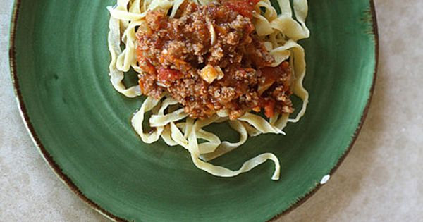 Big Fat Bolognese Sauce | Main Course Recipes | Pinterest