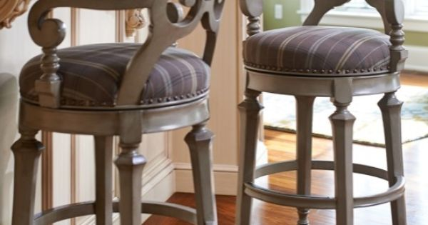 Influenced By Biedermeier Design The Louisa Barstool Is