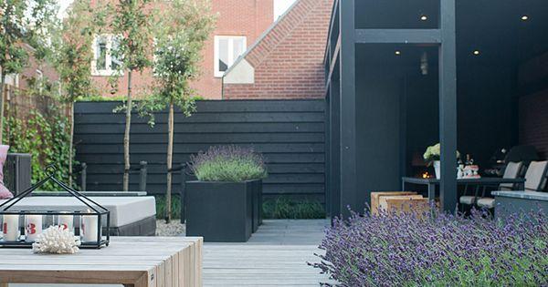 Sfeervolle stadstuin met veranda bart bolier tuinarchitect ontwerp - Luifel ontwerp voor patio ...