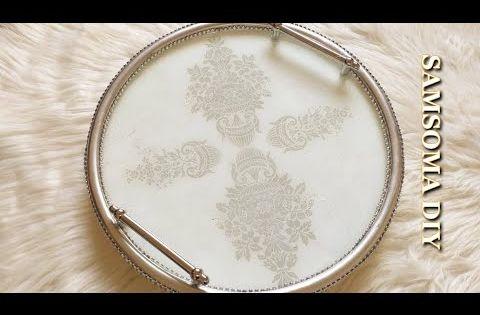Pin By Crochet Samsoma On Diy Decorative Tray Diy Tray