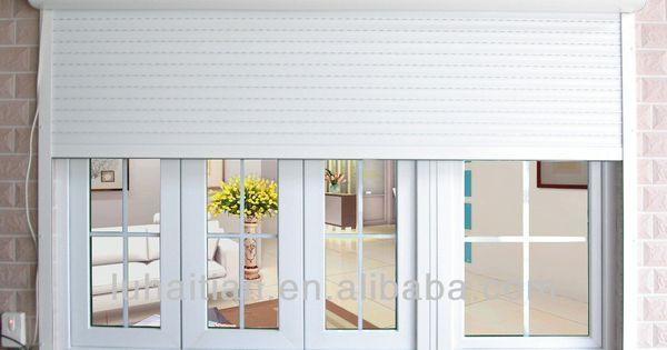 Security Residential Aluminum Roller Shutters Buy Exterior Aluminum Shutters Outdoor Roller