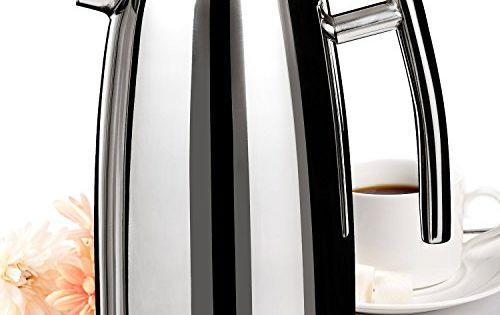 Le Meilleur French Press Coffee Maker : Secura 1500ML French Press Coffee Maker, 50-Ounce, Stainless Steel 18/10 SFP-50DSC, BONUS ...