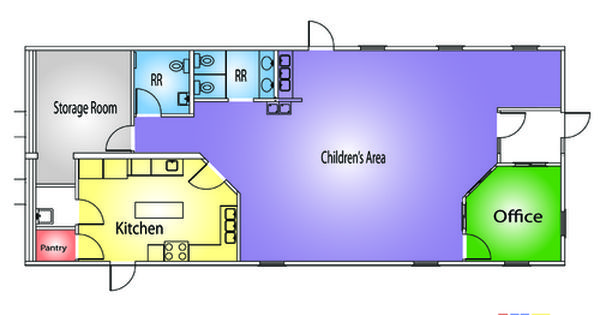 Day Care Layout Floor Plan Classroom Floor Plan Daycare