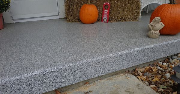 Concrete Resurfacing Amp Coatings Dayton Ohio Porch