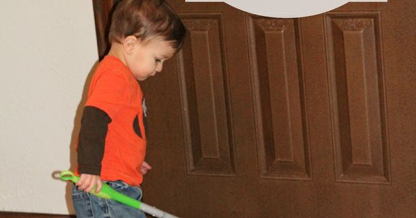 Chores for Toddlers -- her advice at the end emphasizes positivity and
