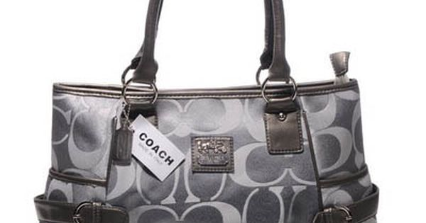 faux chloe bags - Coach Madison Soho Pleated Silver Shoulder Bag | coach | Pinterest ...