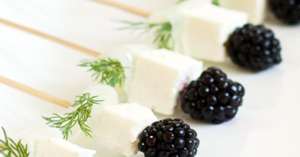 blackberry hors d'oeuvres