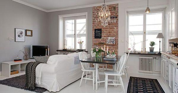 Ideas de l mparas en pisos peque os combina diferentes - Lamparas de ambiente ...