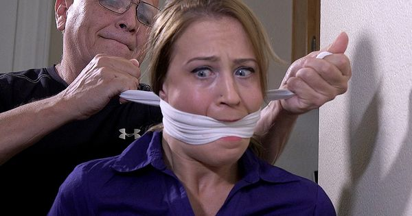 Home Invaded-Gagged tight by the burglar!! | Damsels in ...