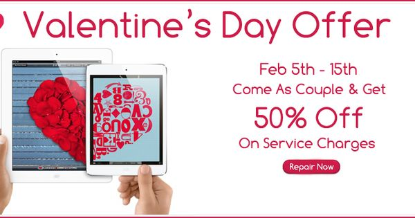 valentine's day laptop sale