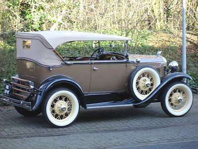 A Picture Review Of The Model A Ford Ford Classic Cars Car Model Ford Models