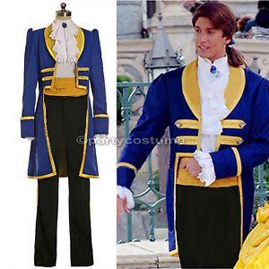 Disney Princess Beauty and the Beast Prince Adam Cosplay